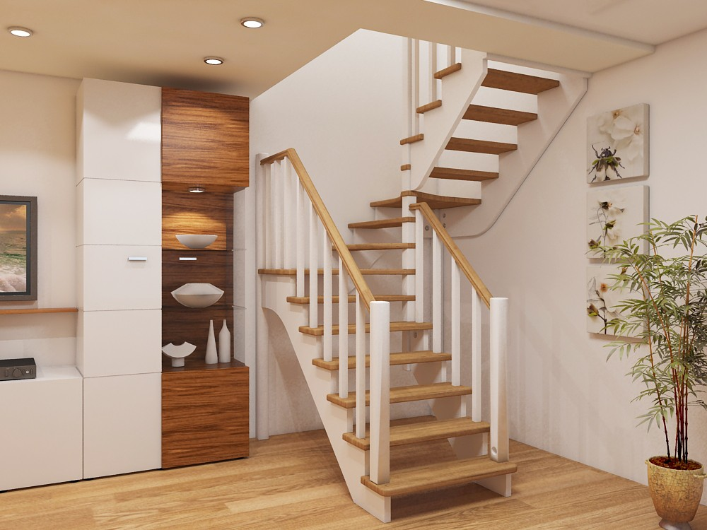 Выбор лестницы для дома