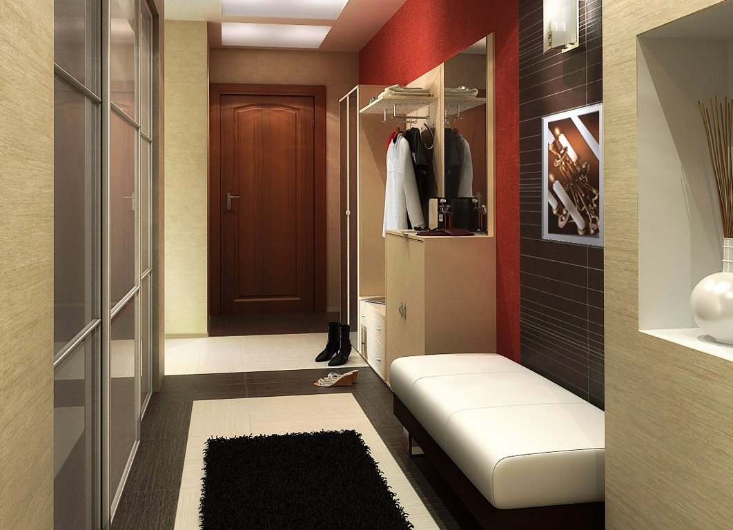 Прихожая дизайн в маленькой квартире