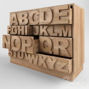 комод алфавитный