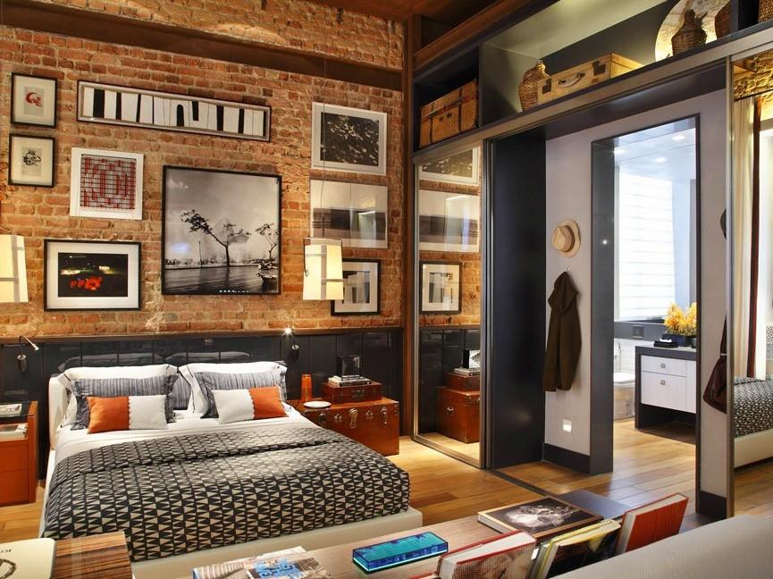 Стиль лофт в интерьере. Основные черты, мебель, стены, декор в стиле   лофт