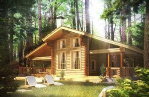 Дом из дерева - преимущества и особенности