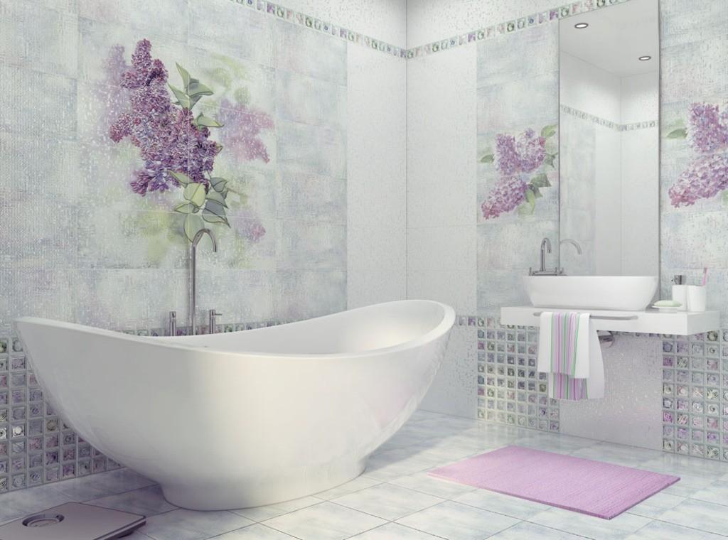 Керамическая плитка для ванной комнаты - что это такое, её преимущества