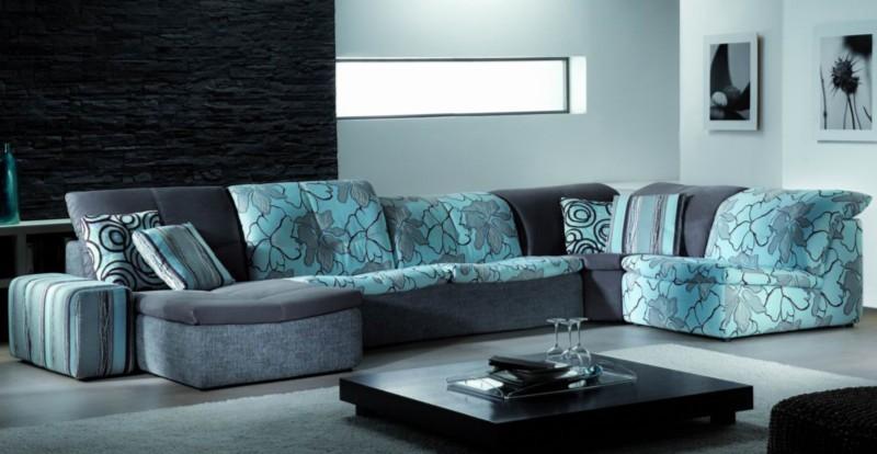 модульная конструкция секционного дивана