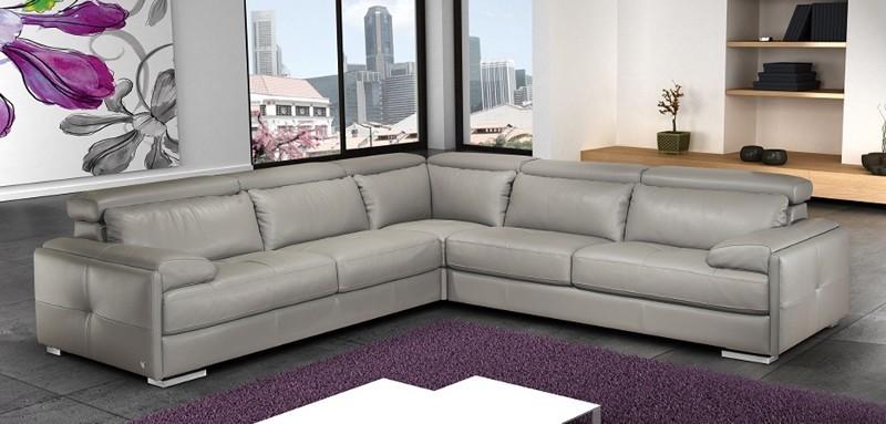 стандартный L- или R-образный секционный диван