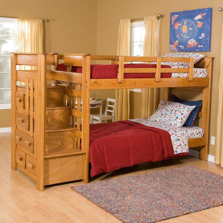 экологичная мебель для детской комнаты из натурального дерева