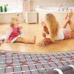 Подогрев полов в доме: преимущества, недостатки, цена