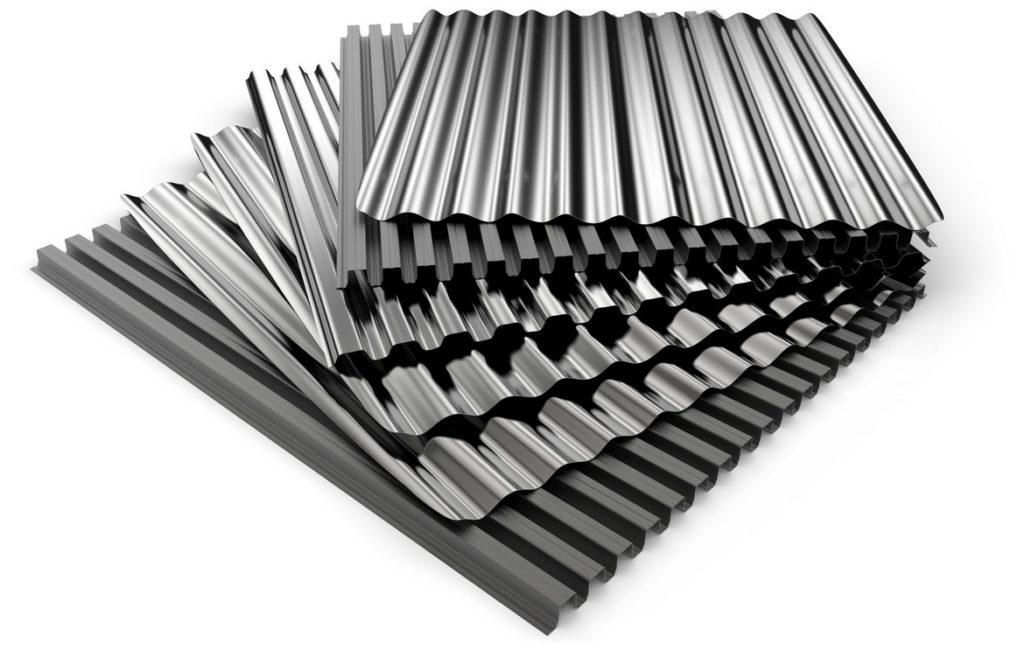 гофрированная сталь