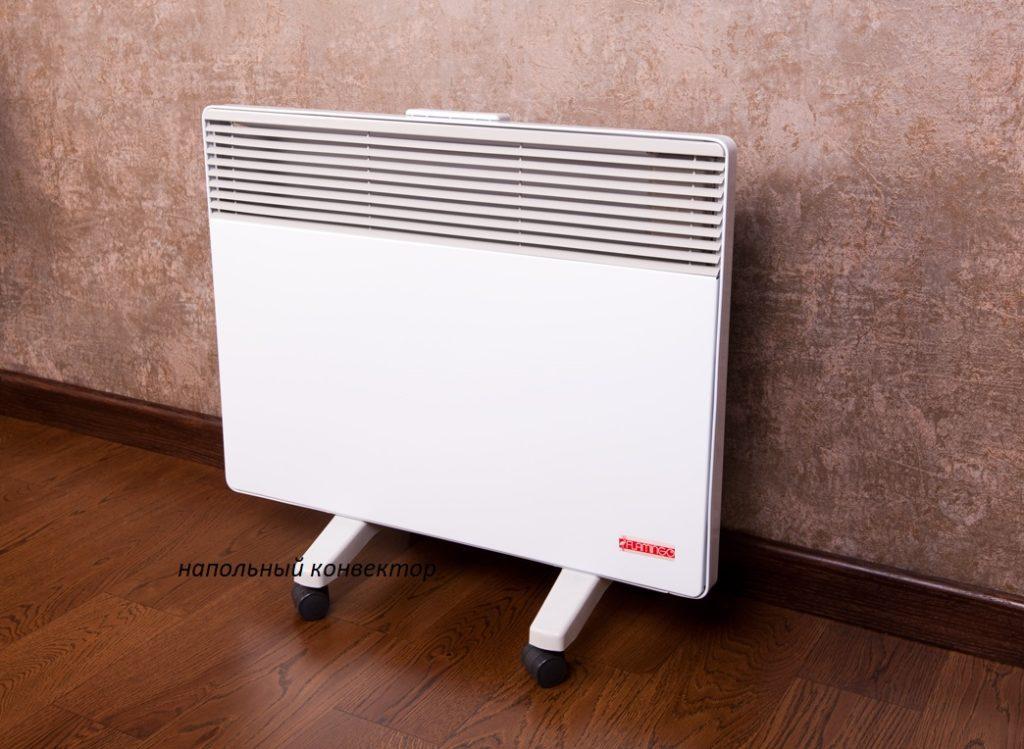 электрический напольный конвектор отопления