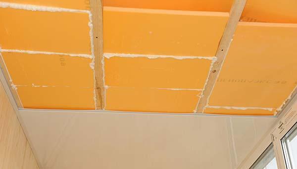 Пенополистирол для звукоизоляции потолка в квартире