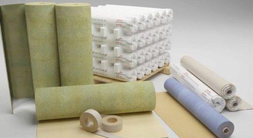 шумоизоляция потолка рулонными материалами