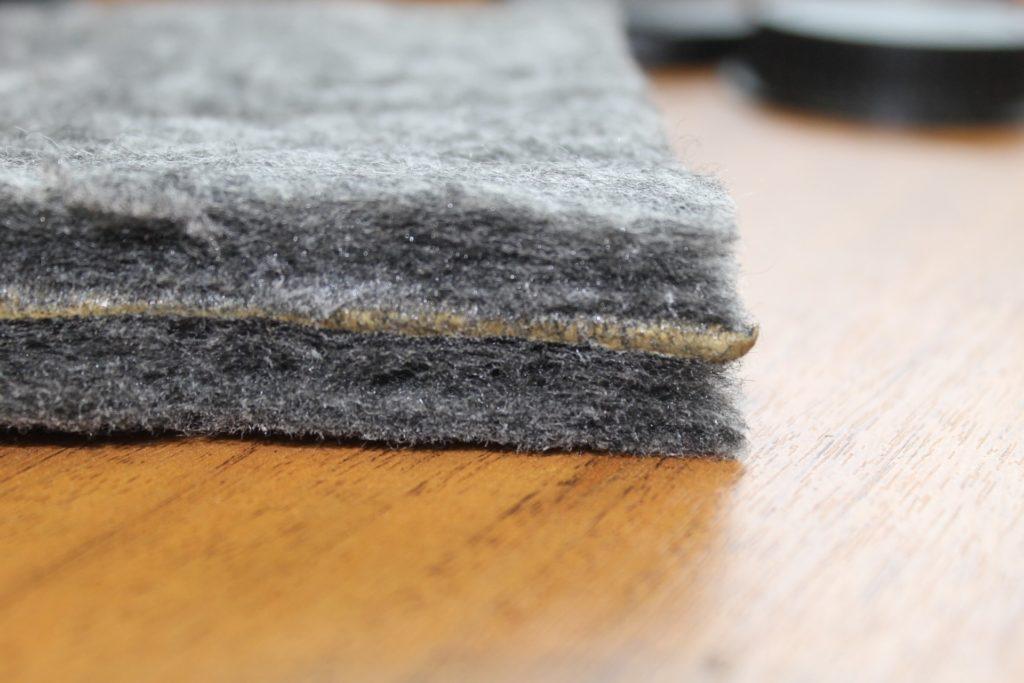 Современные шумопоглощающие материалы: войлок