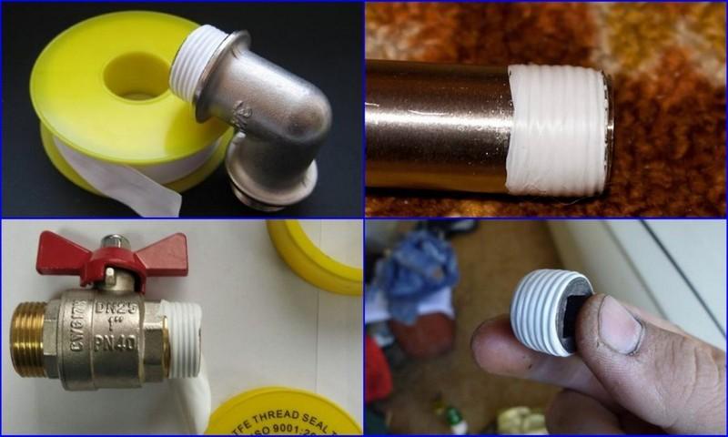 Как правильно наматывать фум ленту на резьбу