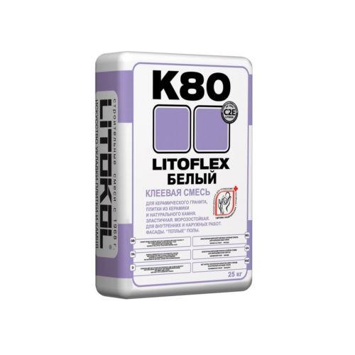 клей для керамогранита LITOFLEX K80