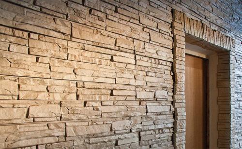 """Фасадные панели для наружной отделки дома """"под камень"""""""