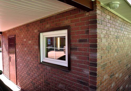 """Фасадные панели для наружной отделки дома """"под кирпич"""""""