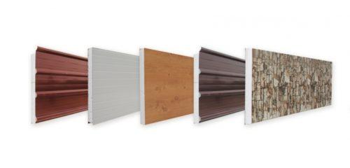 Сендвич-панели для отделки фасада