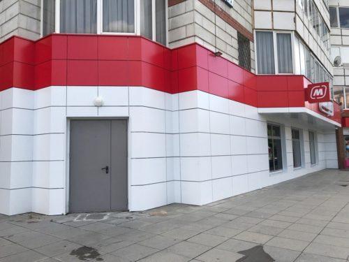 Композитные панели для отделки фасада