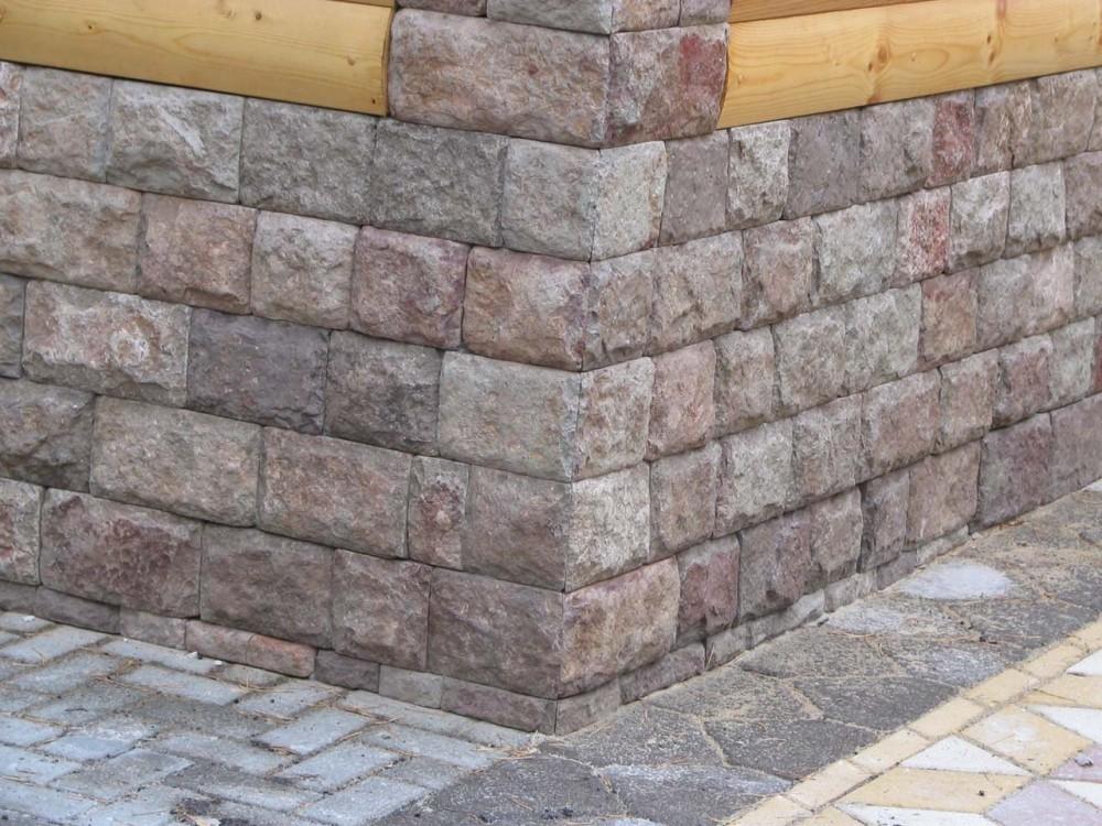 Натуральный строительный камень