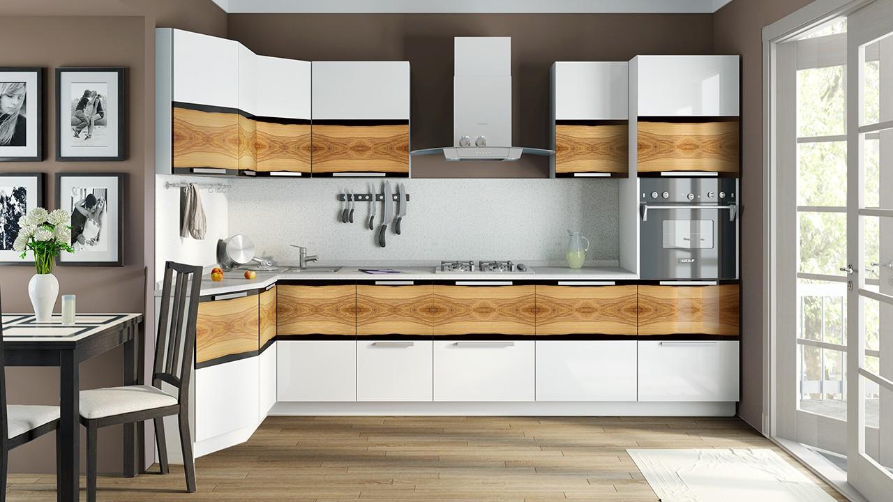 Модульные кухонные гарнитуры для хозяйки