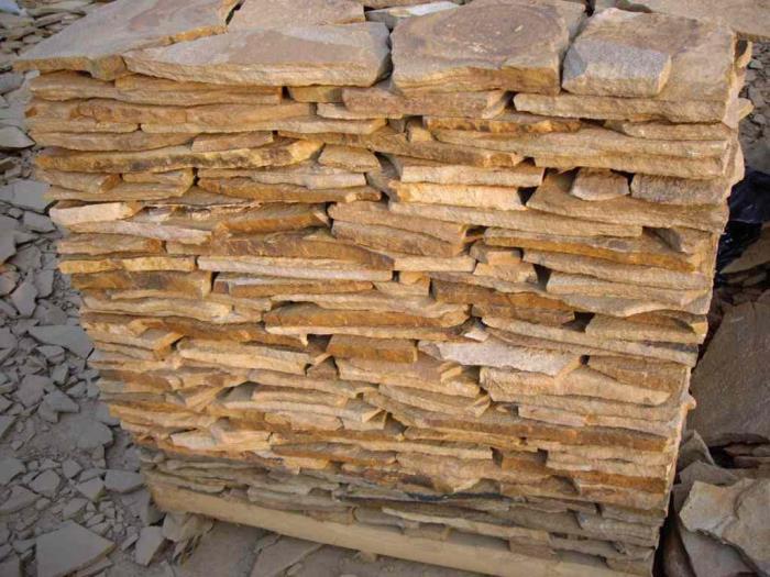Большой ассортимент натурального строительного камня