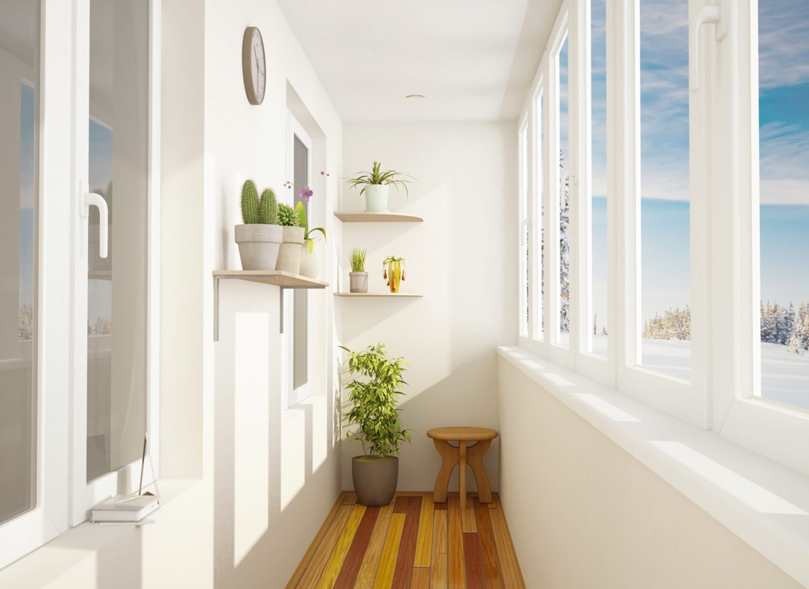 Как превратить обычный балкон в уютную комнату?
