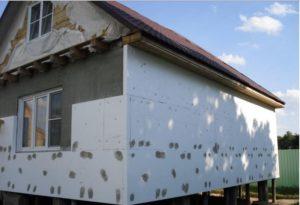 Материалы для утепления фасада дома
