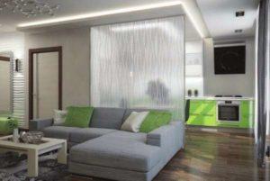 Советы по дизайну однокомнатной квартиры-студии.