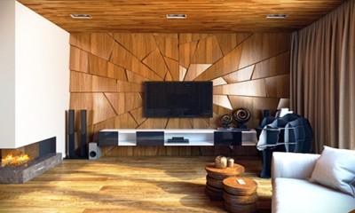 Деревянные стеновые панели для внутренней отделки стен