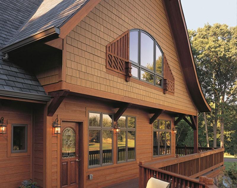 отделка фасада деревянного дома фото высокие кеды