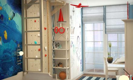 Эко материалы для детской комнаты