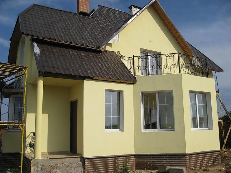 Виды наружной отделки стен дома из газобетона