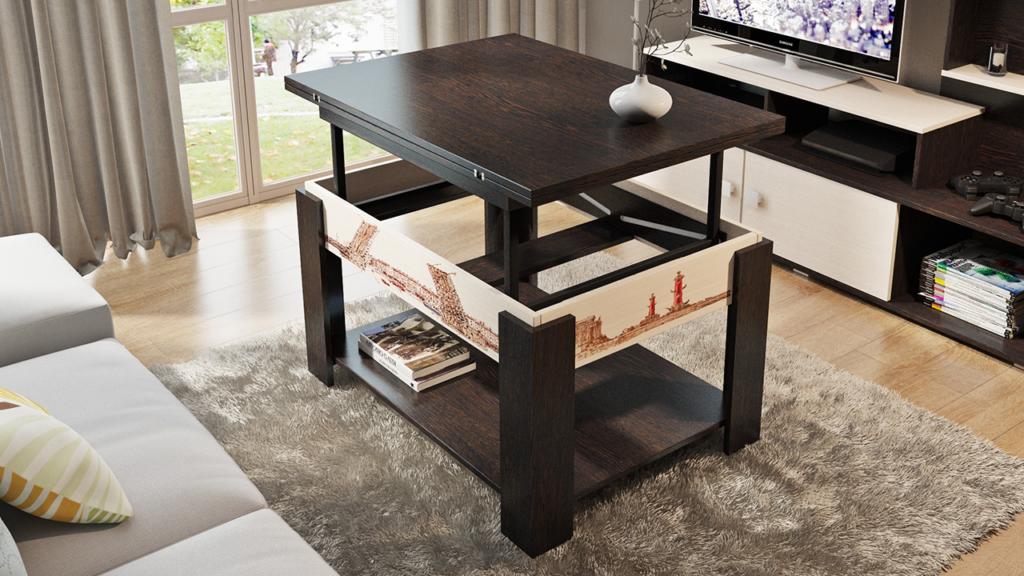 Стол-трансформер - многофункциональный, универсальный стол.