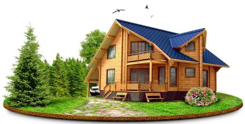 Дом из дерева – преимущества и особенности