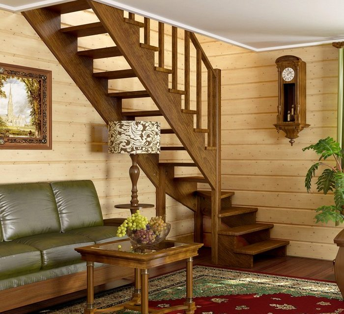 Как построить деревянную лестницу