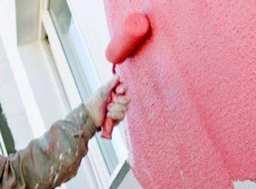 фасадная водоэмульсионная краска для работ по бетону