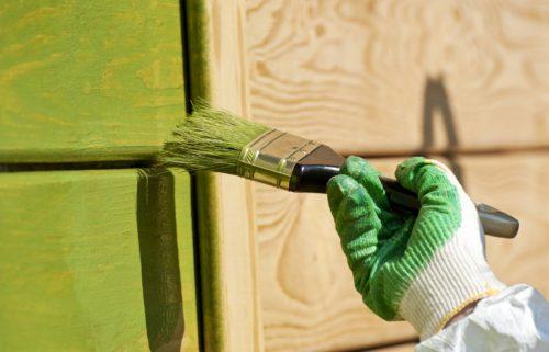 водоэмульсионная фасадная краска для работ по дереву