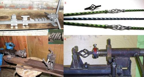 Станки для художественной холодной ковки по металлу