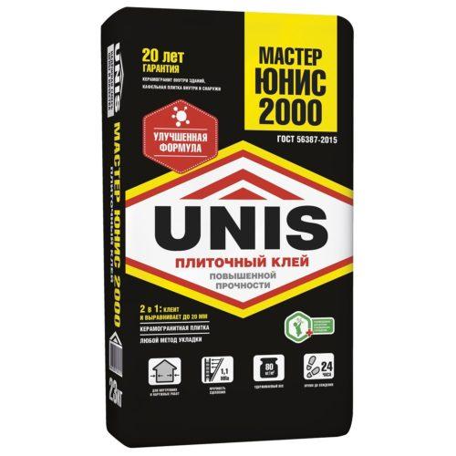 UNIS 2000 клей для плитки из керамогранита