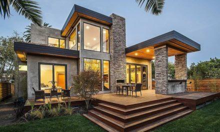 Современные дома в стиле модерн