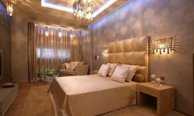Подбор светильников в спальню – советы от школы дизайна
