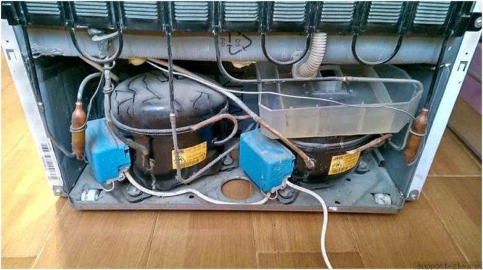 Поломка компрессора холодильника