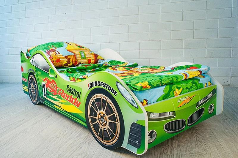 детская кровать машина для мальчика