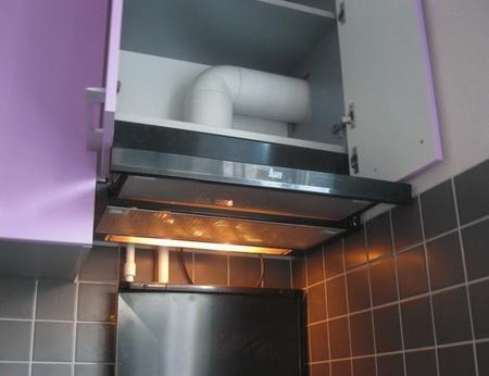 Проточная вытяжка для кухни