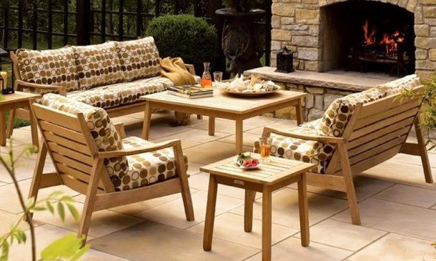 Виды садовой мебели