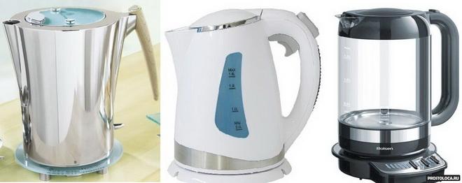 Какой электрочайник лучше, пластиковый или металлический
