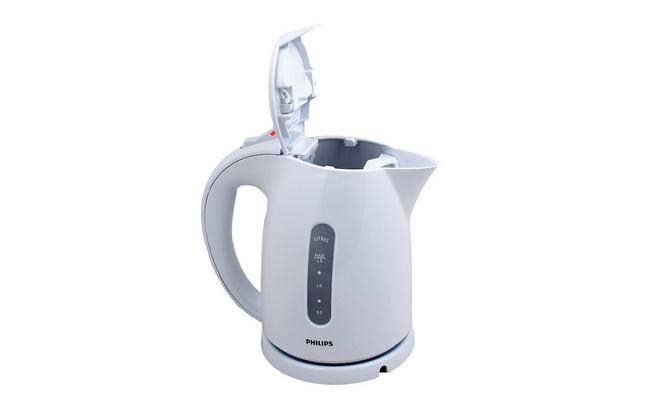Электрический чайник Philips HD4646/00 белый