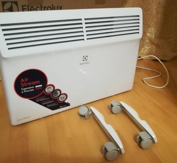 Лучшие обогреватели для дома. Конвектор Electrolux ECH/AS-1000 MR