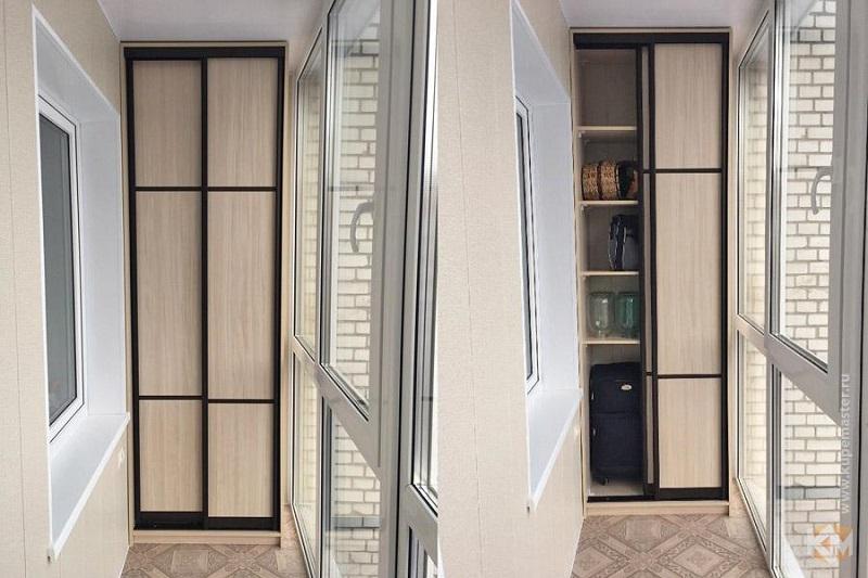 шкаф-купе на балкон 2