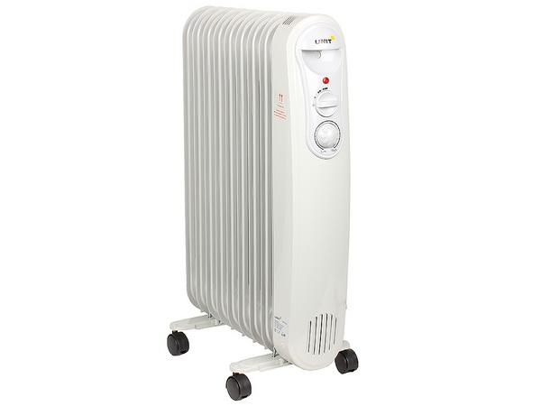 Лучший масляный радиатор для дома UNIT UOR-940 белый