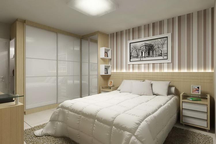 Как расставить мебель в спальне и правильно подобрать цвет